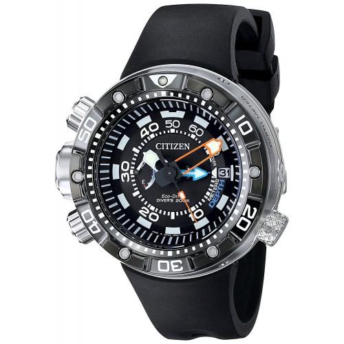2e39be16b64 Relógio Masculino Citizen Eco Drive BN2029-01E Promaster Aqualand ...