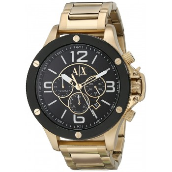 Relógio Armani Exchange Men's Gold Watch