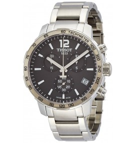 Relógio Masculino Tissot Quickster Stainless Steel Watch