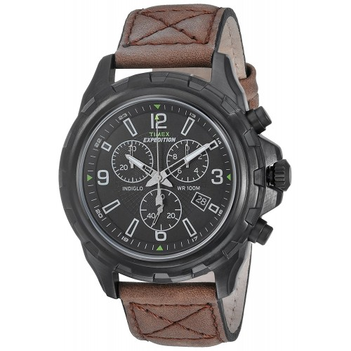 bad2478a200 Relógio Timex Expedition Rugged Chronograph Watch