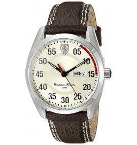 Relógio Masculino Ferrari Quartz Brown Watch