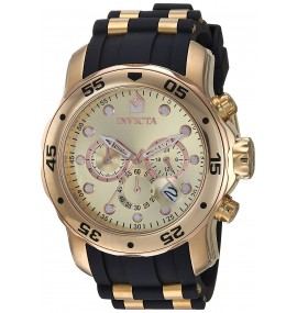 Relógio Invicta 17884 Pro Diver Ouro 18k