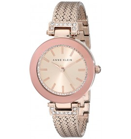 Relógio Feminino Anne Klein Swarovski Crystal