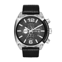 Diesel Watches Overflow Leather Watch