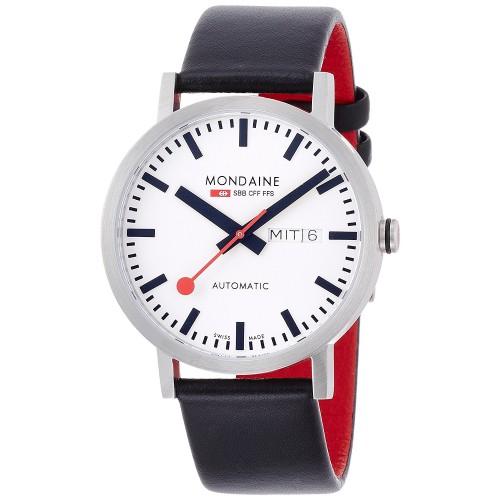 a3bb50226f3 Relógio Mondaine Unisex Swiss Automatic Black Watch