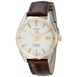 Relógio TAG Heuer Men's Carrera With Brown Leather Band