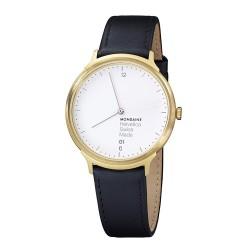 Relógio Mondaine Unisex Helvetica Black