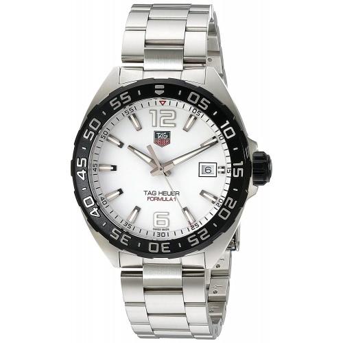 f73c3402132 Relógio TAG Heuer Men s Stainless Steel Bracelet Watch