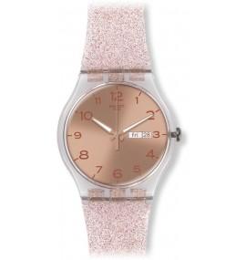 Relógio Swatch Unisex Pink Glistar
