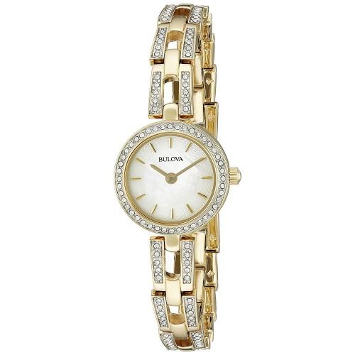 8995563f006 Relógio Feminino Bulova 98L213 Crystal