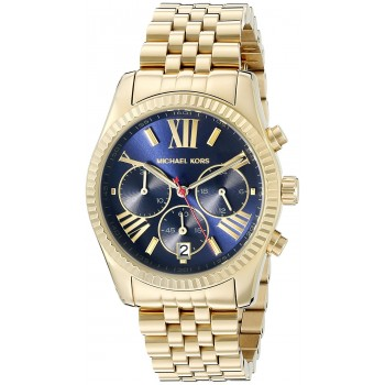 Relógio Feminino Michael Kors Lexington Gold
