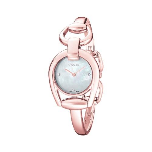 f386da33ad5 Relógio Gucci Horsebit Ouro Rosé 18k