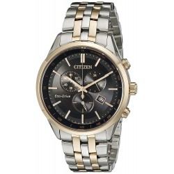 7253dc7f1f0 Relógio Masculino Citizen Eco Drive Two Tone Watch
