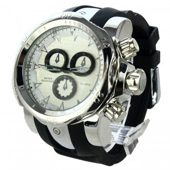 Relógio Importado Future 3D Prata