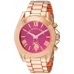 Relógio Feminino U.S. Polo Rose Gold-Tone Watch