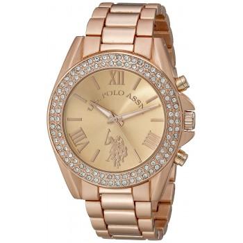 Relógio feminino U.S. Polo USC40037 Ouro Rosé