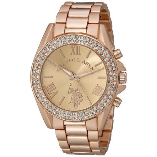 ca06410988e Relógio feminino U.S. Polo USC40037 Ouro Rosé