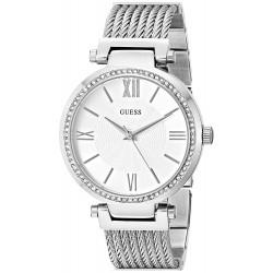 Relógio Feminino Guess G-Link Prata