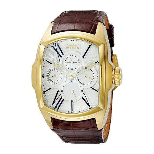 861fec92bea Relógio masculino Invicta Lupah 18k Gold Ion-Plated Stainless Steel ...