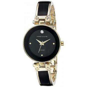 Relógio feminino Anne Klein Preto e Ouro