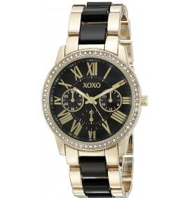 Relógio Feminino XOXO XO5874 Ouro e Preto