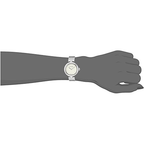 cadfa3f26 Relógio Feminino Gucci Prata Swiss YA141502 | Loja Compra24h
