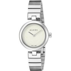 0d33354c27b Relógio Feminino Gucci Prata Swiss YA141502