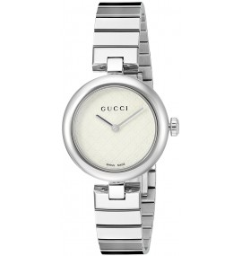 Relógio Feminino Gucci Prata Swiss YA141502