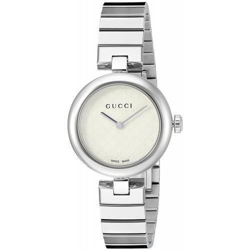 9bd0af2717b Relógio Feminino Gucci Prata Swiss YA141502