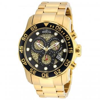 Relógio Invicta 19837SYB Pro Diver Ouro 18k