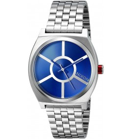 Relógio Masculino Nixon Time Teller Star Wars, R2D2 Azul