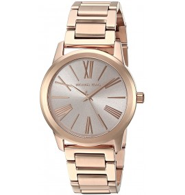 Relógio Feminino Michael Kors Hartman Ouro Rosé