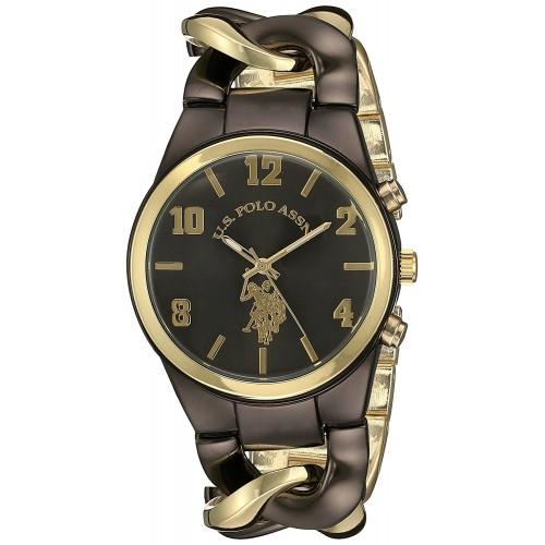 c0a03876a94 Relógio Feminino U.S. Polo Gold and Black
