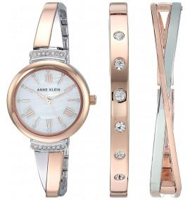 Relógio Anne Klein Rosé Crystal