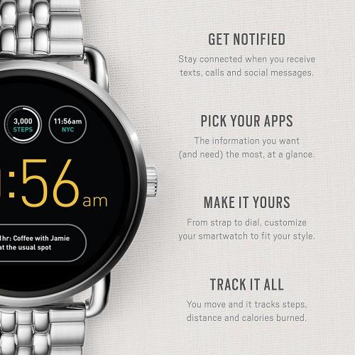 019dfc407aa Relógio Fossil Gen 2 Smartwatch Q