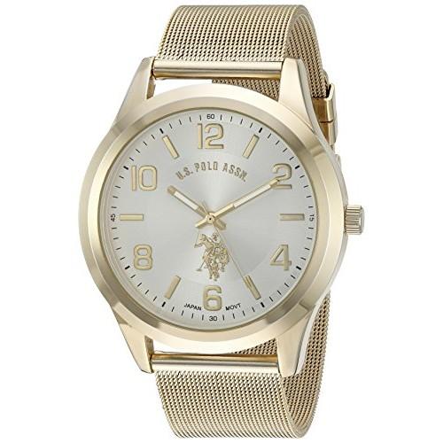 c6457fd2add Relógio Masculino U.S. Polo Gold-Toned