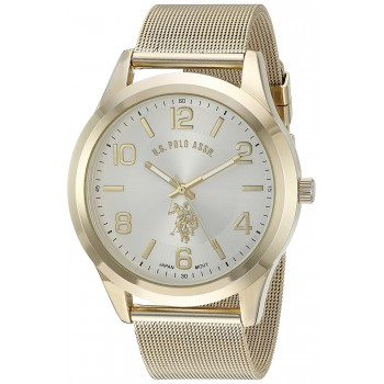 Relógio Masculino U.S. Polo Gold-Toned