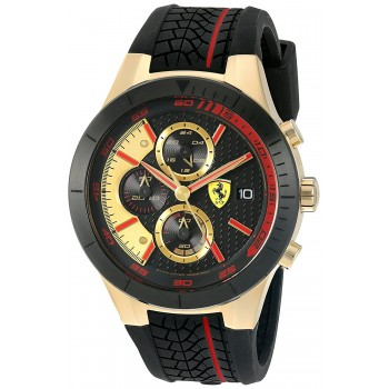 Relógio Ferrari 830298 Evo Chrono banhado a ouro