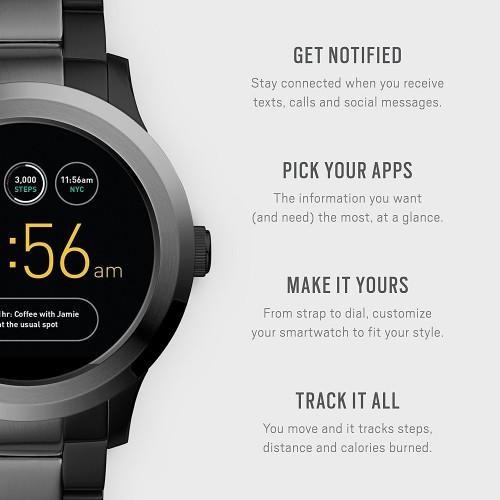 6f4edc2d509 Relógio Fossil Q Founder 2 Smartwatch Touchscreen
