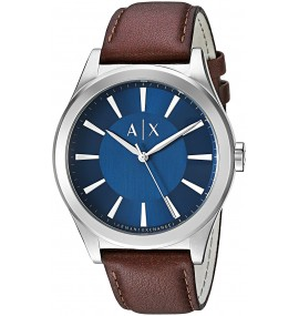 Relógio Masculino A/X Armani Exchange Smart Leather Watch