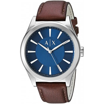 Relógio Masculino A/X Armani Exchange Smart Leather Watch