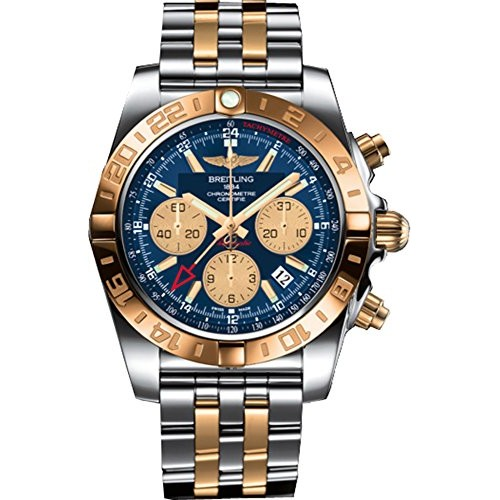 58ff452d26f Relógio Masculino Breitling Chronomat 44 GMT Analag Display