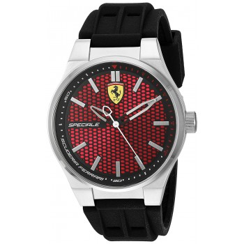 Relógio Masculino Preto Scuderia Ferrari