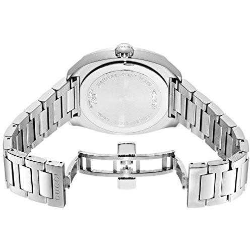 79582b3b1e0 Relógio Masculino Gucci Quartz Aço Inoxidável Prata (Model  YA142205 ...