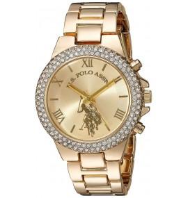 Relógio Feminino U.S. Polo Gold