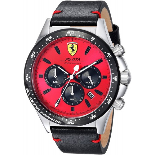 58d78583a0a Relógio Scuderia Ferrari Men s  PILOTA