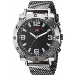 Relógio Masculino U.S. Polo Black
