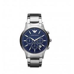 Relógio Masculino Emporior Armani Classic Blue Dial Watch