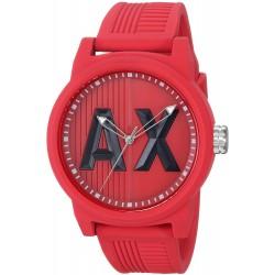 Relógio Masculino Armani Exchange Red Silicone