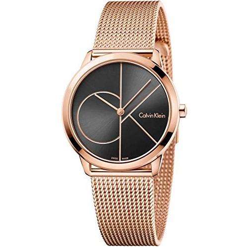 49e374e6c4c Relógio Calvin Klein Feminino Ouro Rosé K3G23626